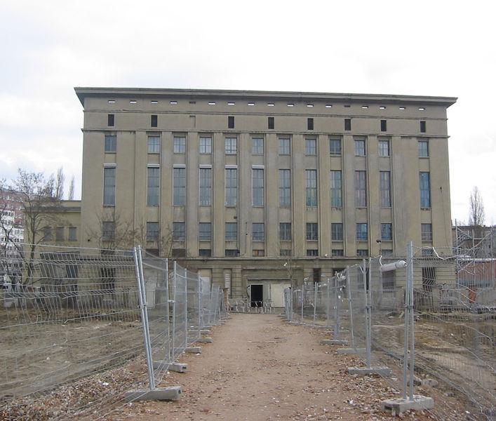 Berghain klubb i berlin